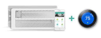 Keen Smart Vents Works with Nest