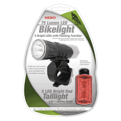 NEBO Bike Light Combo Packaging
