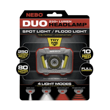 Nebo Bike Light Packaging