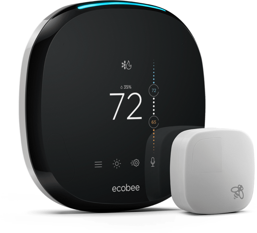 ecobee4 WiFi Thermostat with Room Sensor