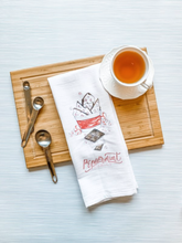 Load image into Gallery viewer, Peppermint Bark Tea Towel
