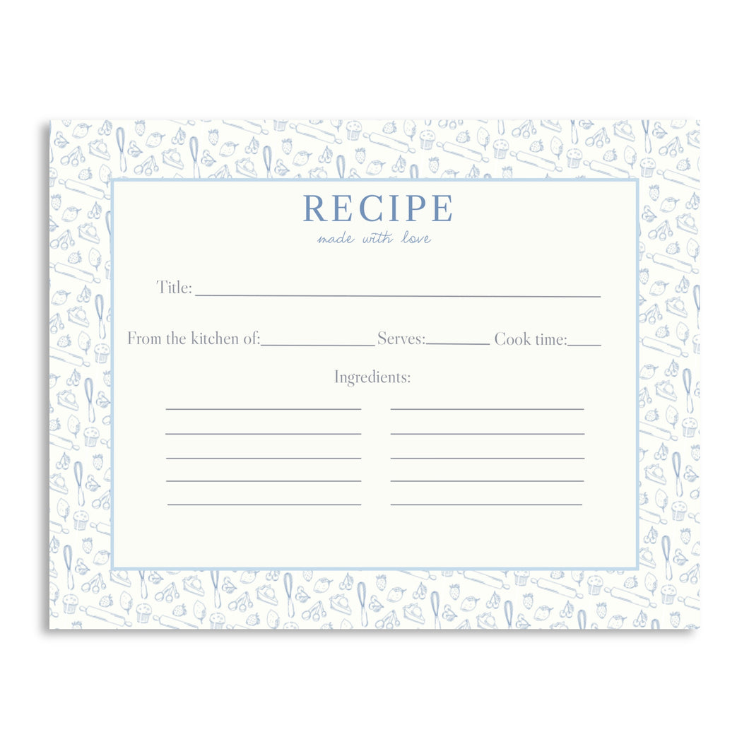 Boxed Set of Recipe Cards