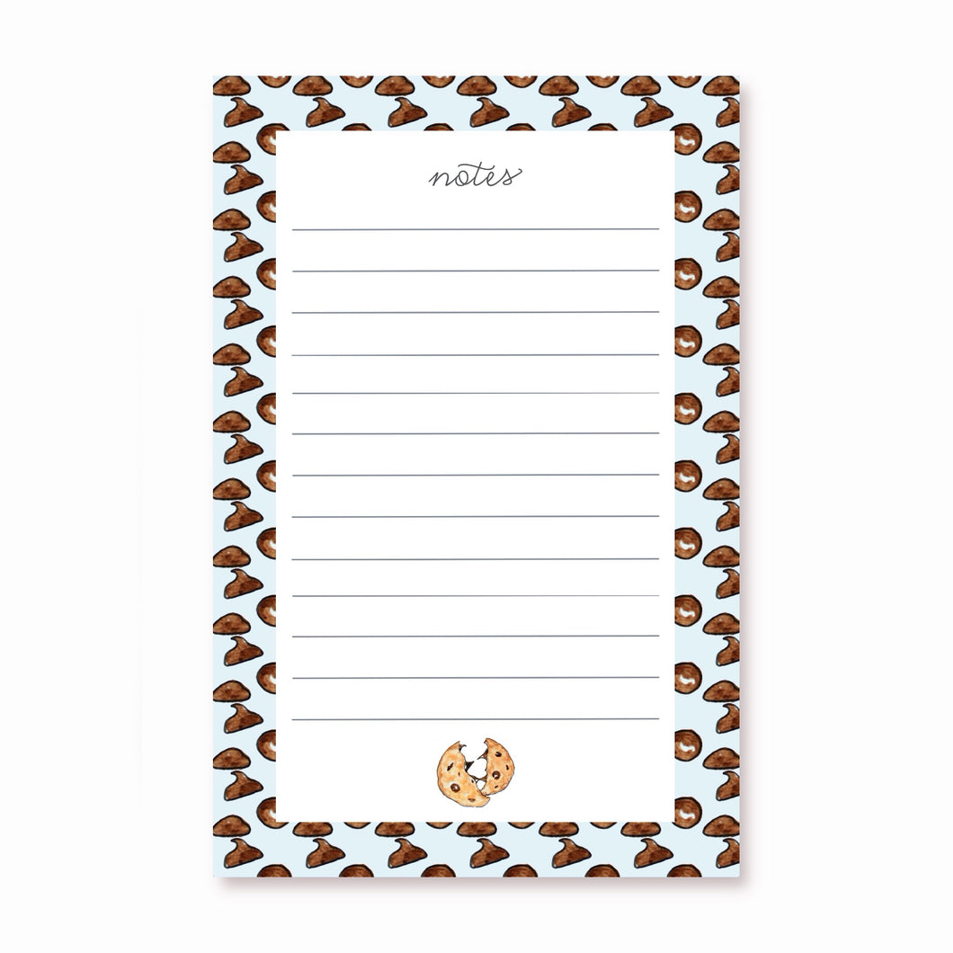 Chocolate Chip Notepad
