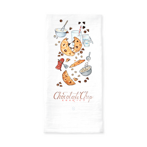 Chocolate Chip Cookie Tea Towel