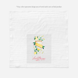Lemon Meringue Tea Towel