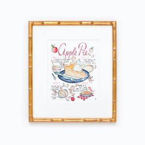 Apple Pie Recipe Print