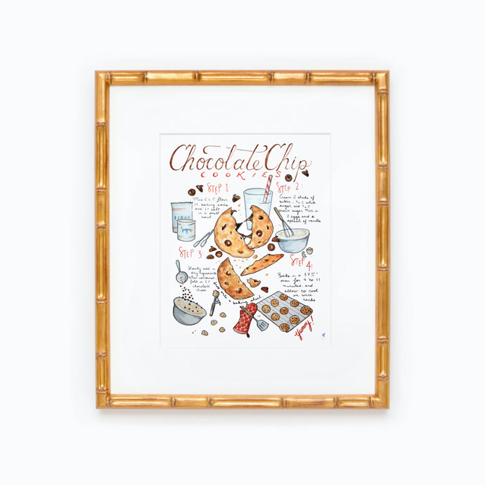 Chocolate Chip Cookie Recipe Print