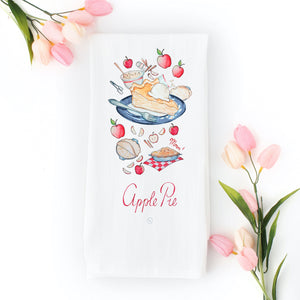 Apple Pie Tea Towel