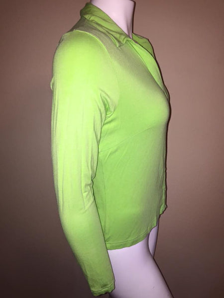 Cerulean Green Button Up Cardigan Size XL