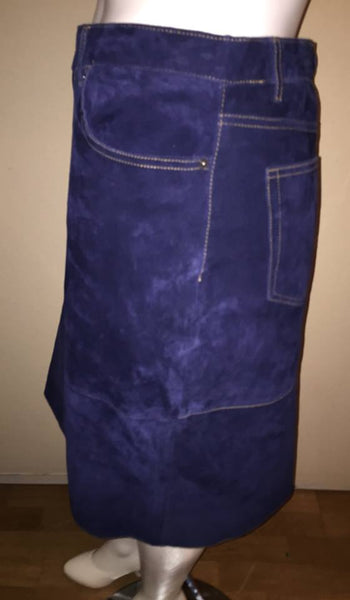 Isaac Mizrahi for Target 100% Suede Pencil Skirt Size 18