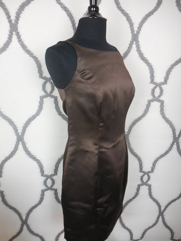 Brown Semi-Formal Cocktail Dress SIZE 10