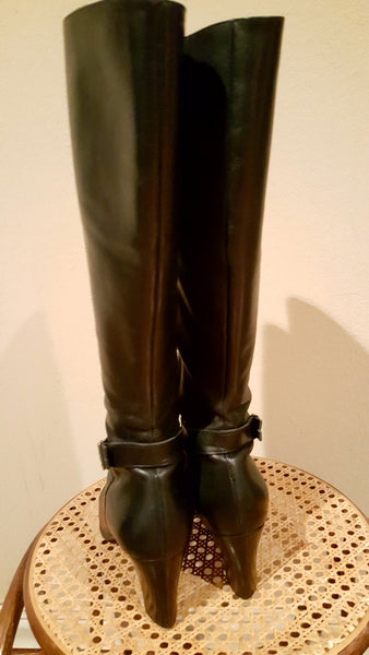 Ann Taylor Size 9 Leather Boots
