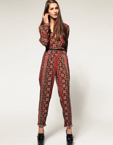 ASOS Jumpsuit in Homeland Print Size 6