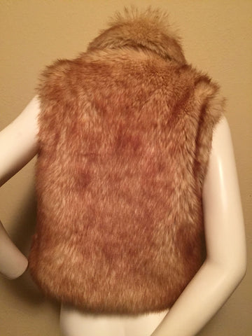 Faux Fur Vest by Baby Phat Size Small