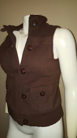 Old Navy Brown Sweater Vest Size Medium
