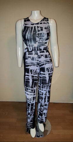 Club Cut Out Jumpsuit Fits Like Size Medium/Large