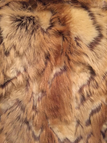 Faux Fur Guess Coat Size Large
