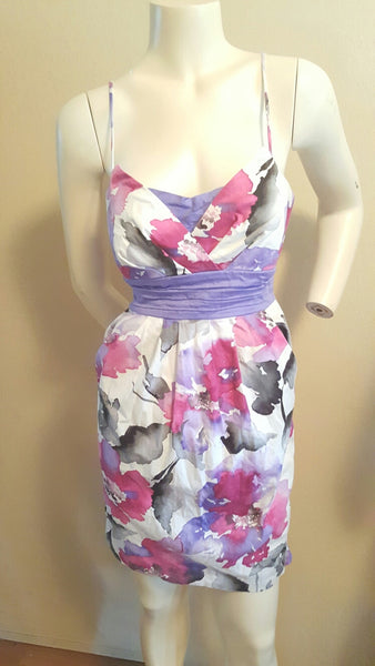 Candies Floral Dress with Pockets Size 7