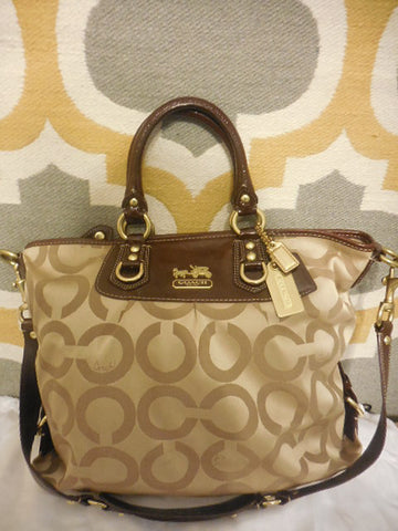 Coach Julianne Tote Satchel XL No. F0869-12963