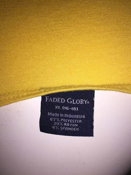 Faded Glory Size XL (16/18)