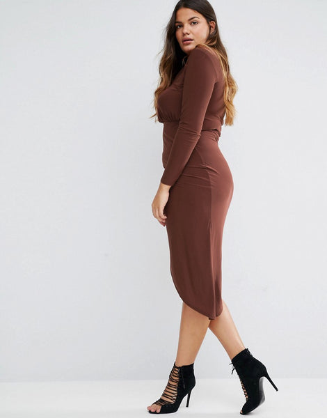 Brand New Chocolate Dress Size 18