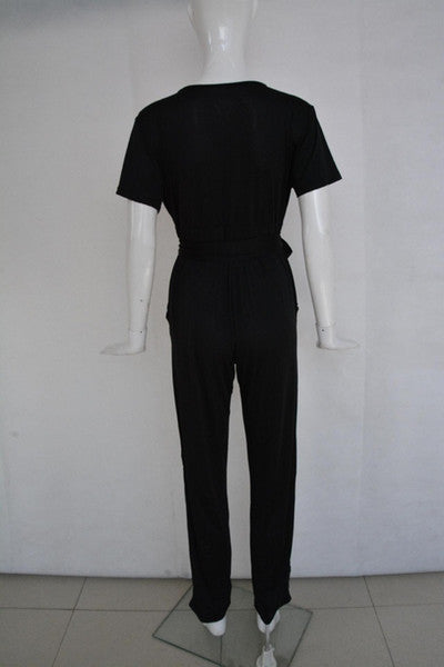 Fresh of LA Black Jumpsuit Size 2X
