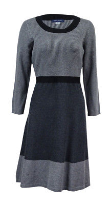 Tommy Hilfiger Size Medium Gray Sweater Dress