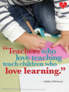 Inspiring Children to Love to Learn