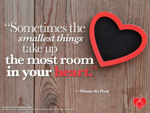 Small Things Command Big Heart Spaces