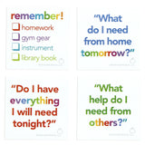 Executive Functioning Sticky Notes