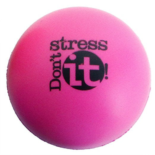 Don't Stress It! Stress Ball - Pink