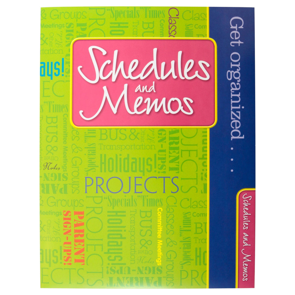 Cool Teacher Pocket Folders: Schedules and Memos