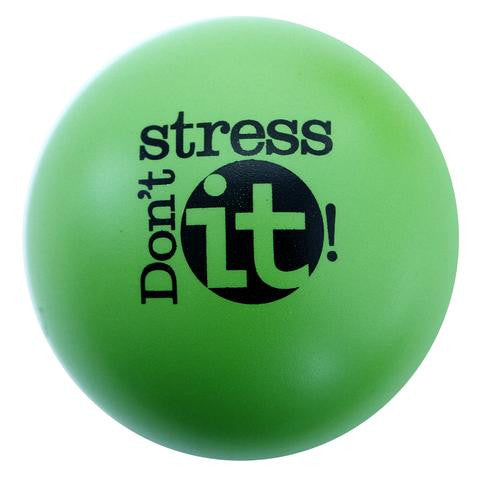 Don't Stress It! Stress Ball - Lime