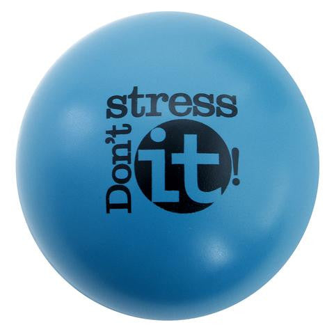 Don't Stress It Squeeze Ball - Teal