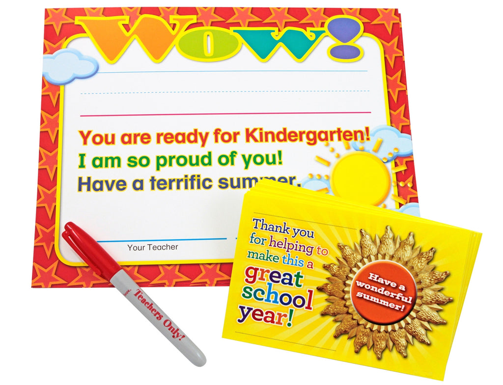 Moving Up to Kindergarten End-of-Year Kit!