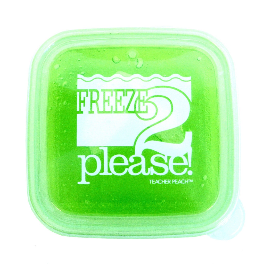 "Time 2 Rhyme ""Freeze 2 Please"" Reusable, BPA-Free, Freezable Sandwich Container"