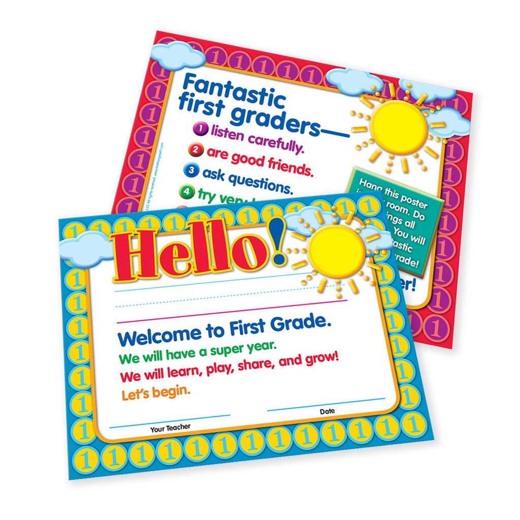Welcome-to-First-Grade Certificates