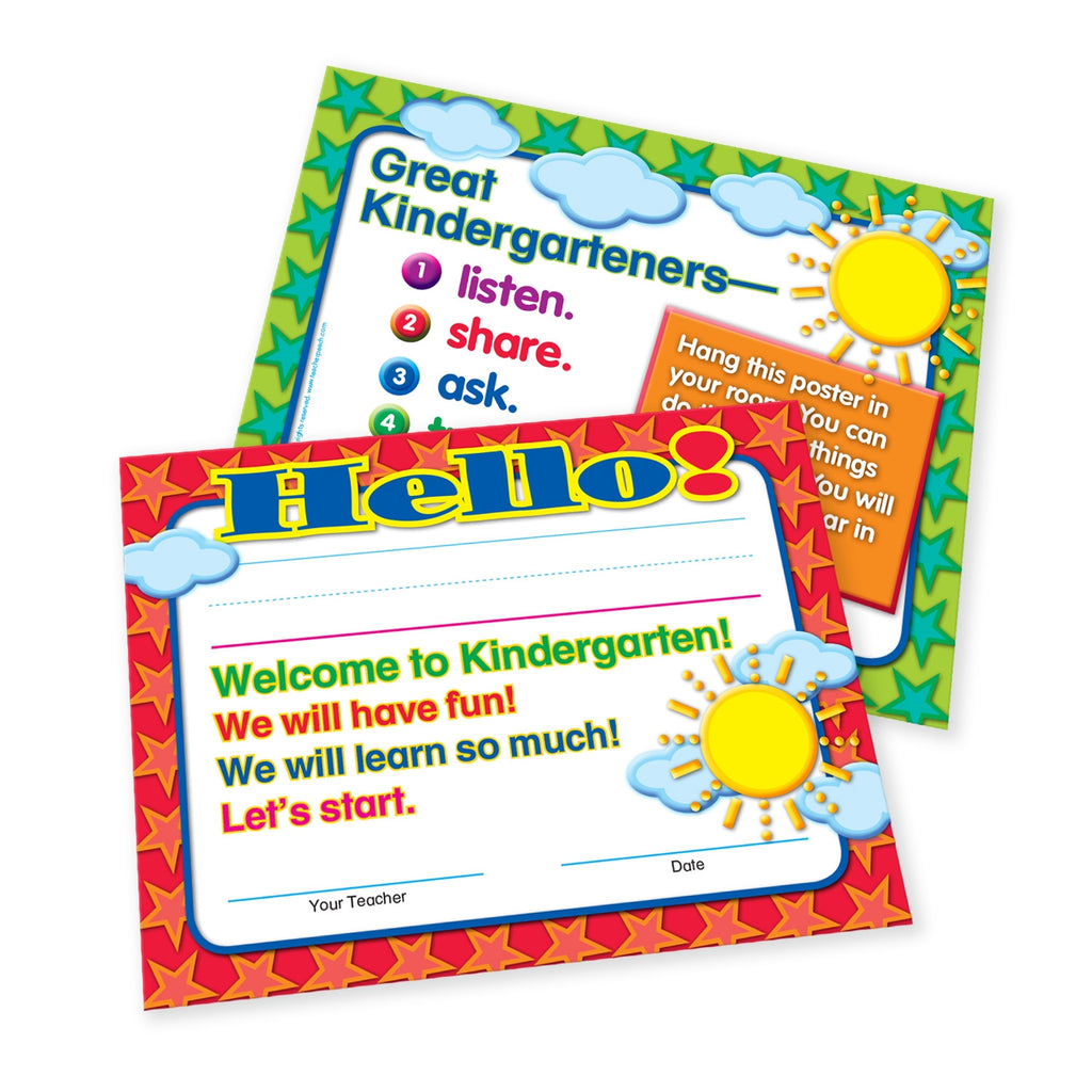 Welcome-to-Kindergarten Certificates