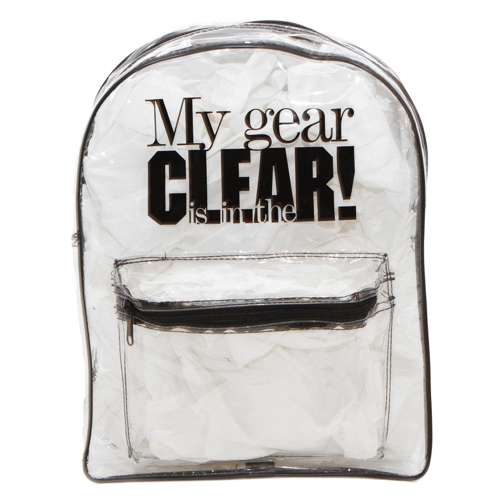 In-The-Clear Backpack for Students and Teachers