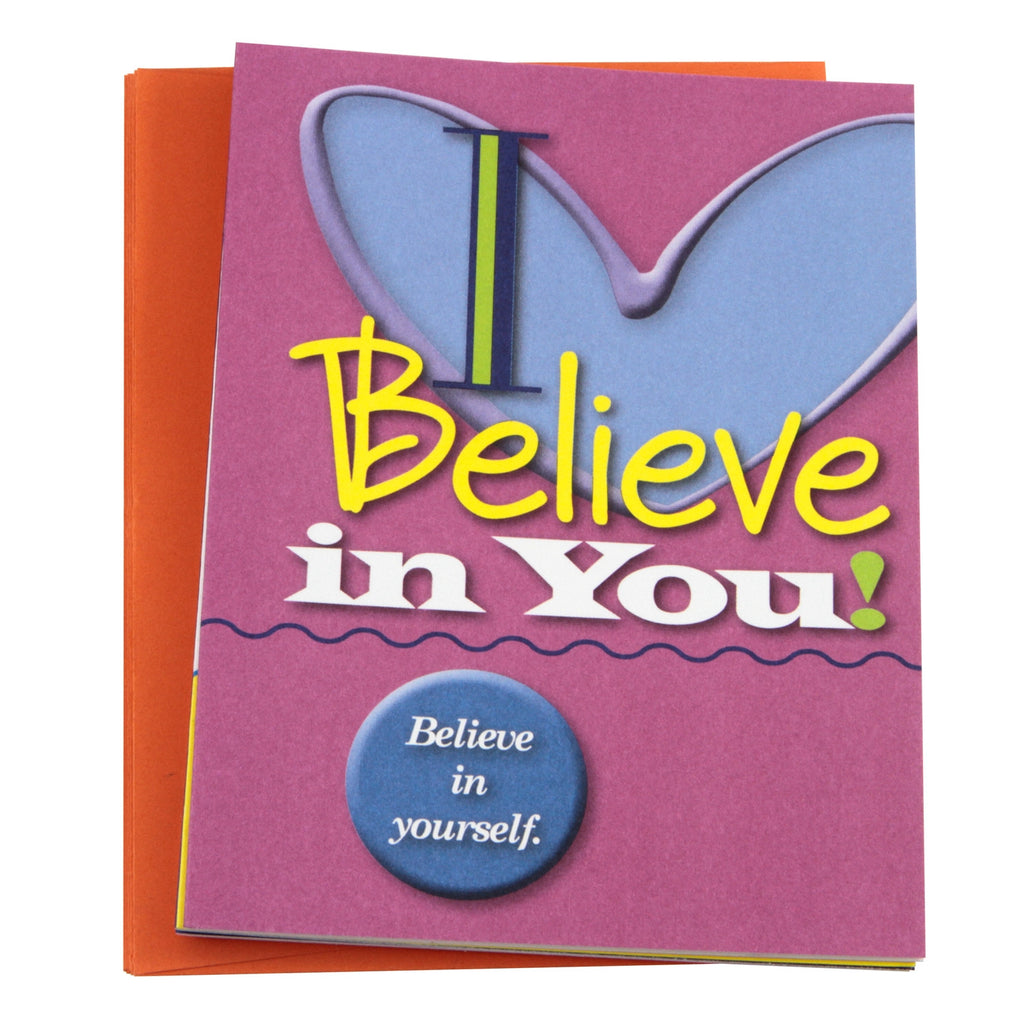 """I Believe in You!"" Note Cards"