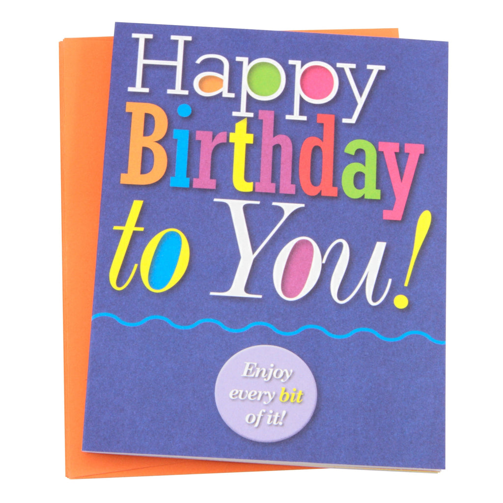 """Happy Birthday to You!"" Note Cards"