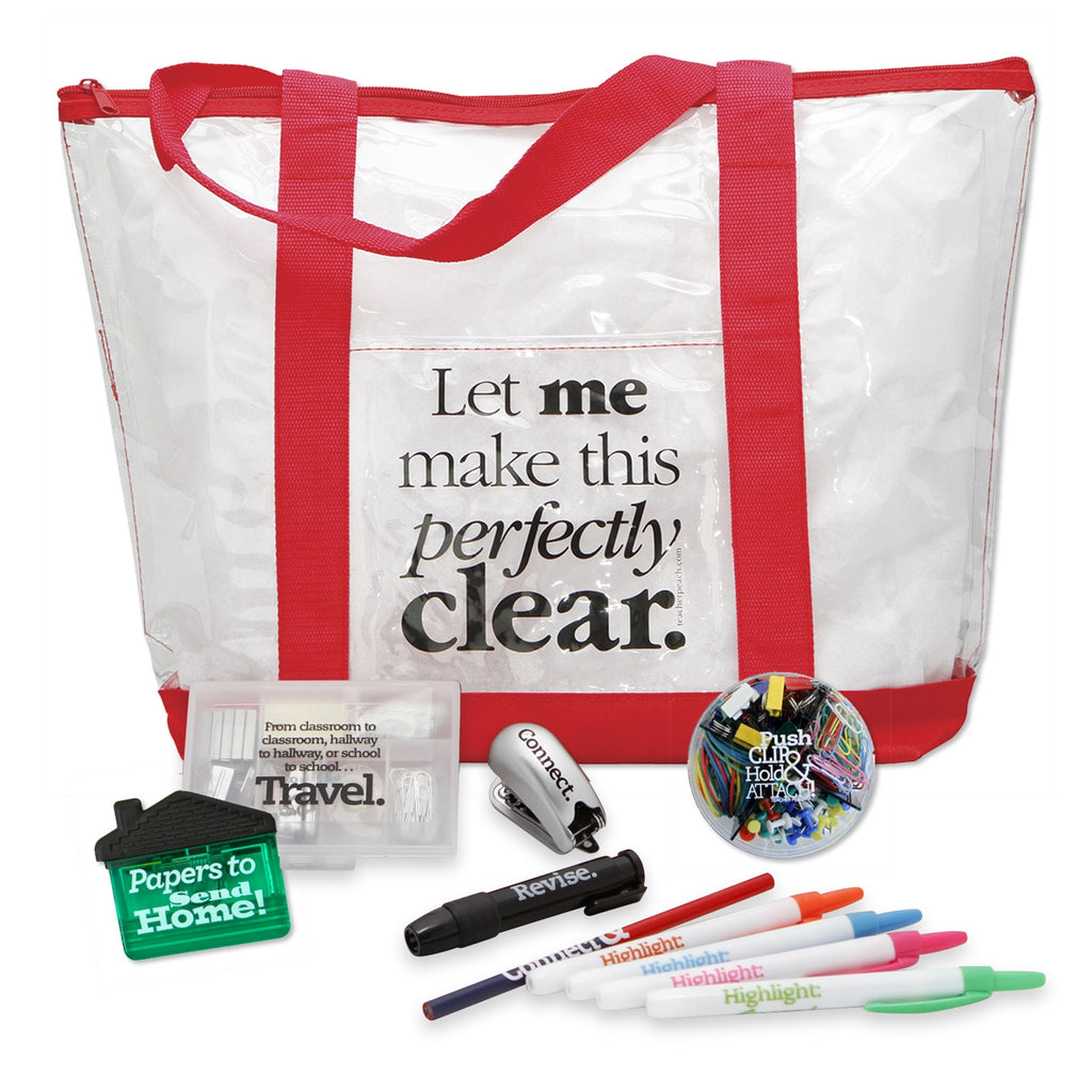 Perfectly Clear Tote Gift Set