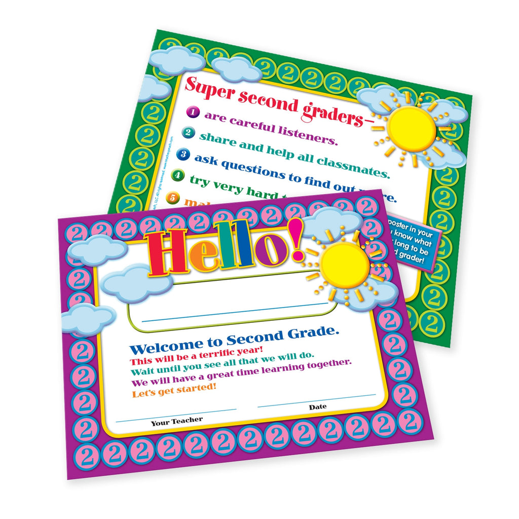 Welcome-to-Second-Grade Certificates