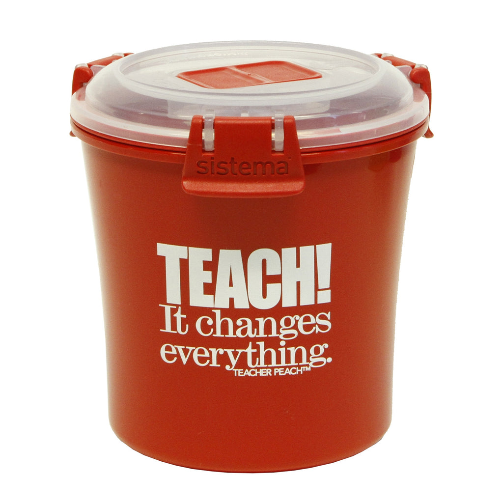 """TEACH. It Changes Everything."" Sistema Soup Mug"