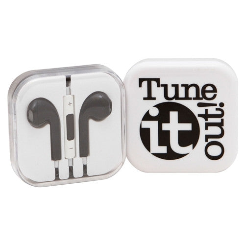 Tune IT Out! Earbuds (Assorted Colors)