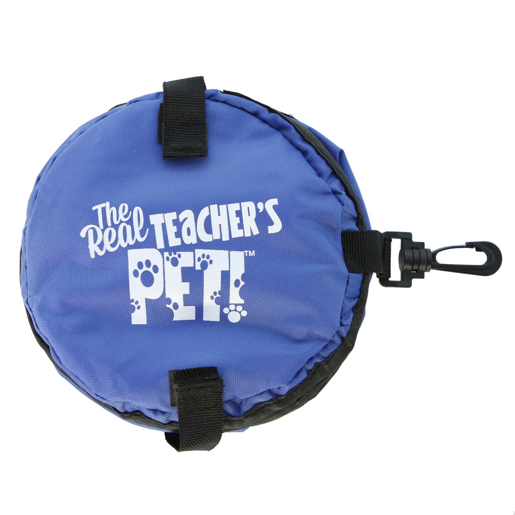 The Real Teachers Pet™ Travel Water Bowl (Assorted Colors)