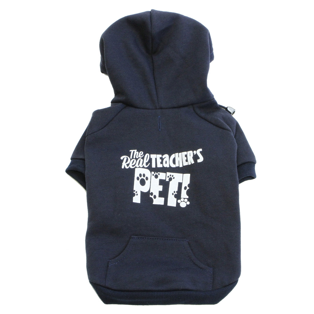 The Real Teachers Pet™ Dog Hoodie (Assorted Colors)
