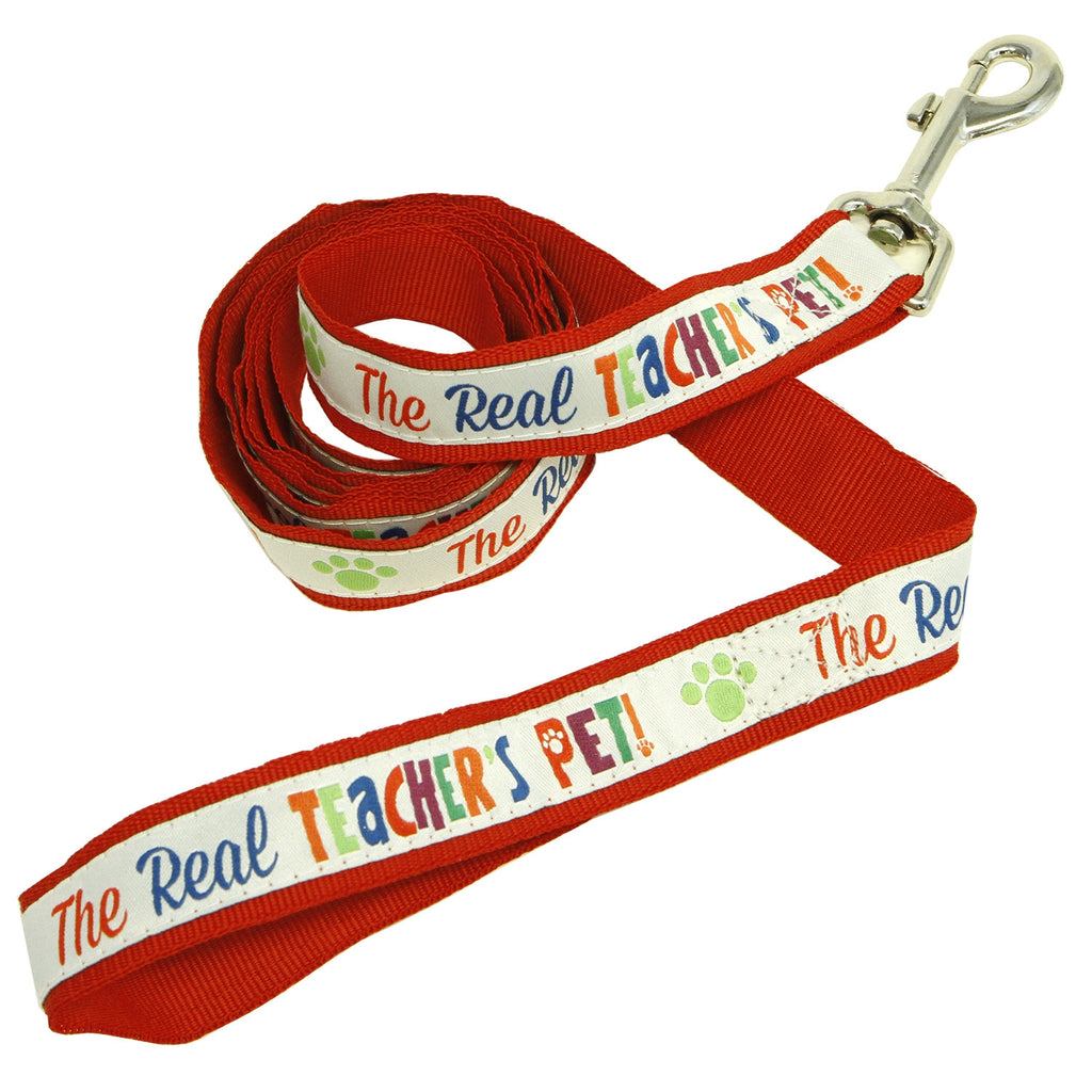 The Real Teachers Pet™ 6-Foot Woven Leash