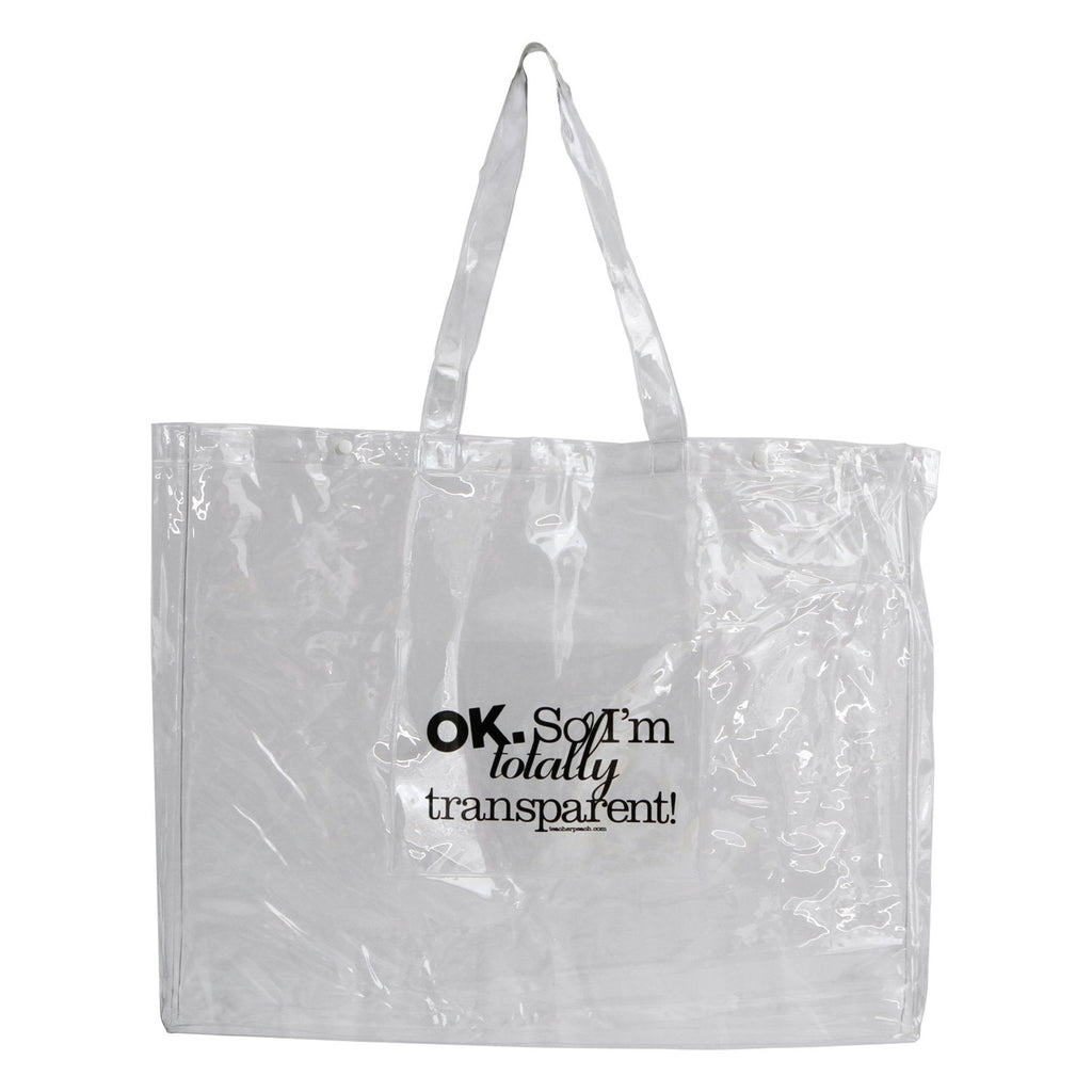 "The ""Totally Transparent"" Tote"