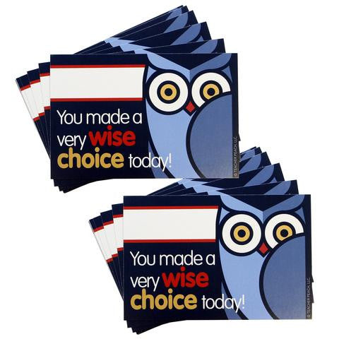Positive Postcards: Wise Choice